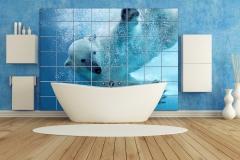blue bathroom,blue bathroom