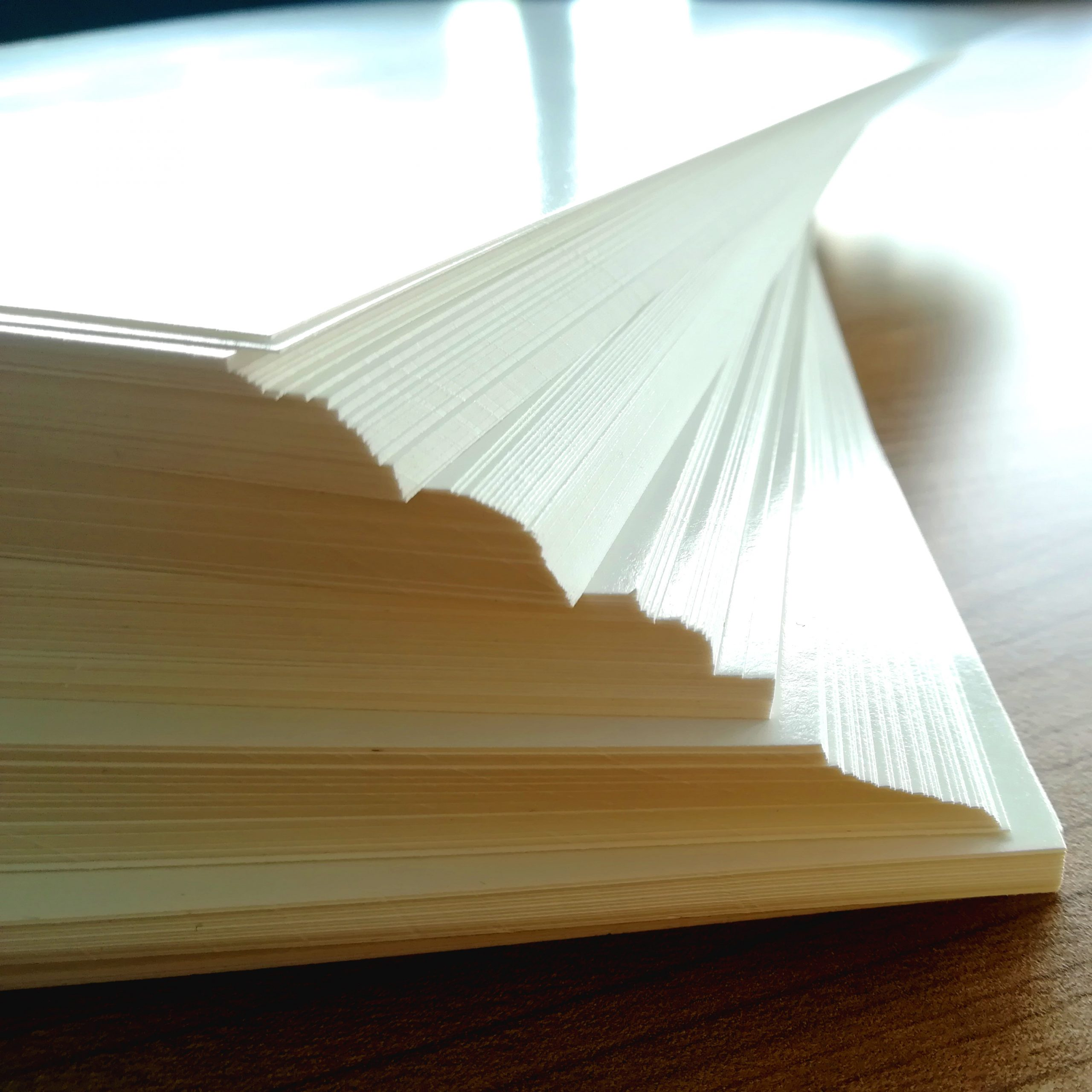 Decal Papier angepasst quadratisch